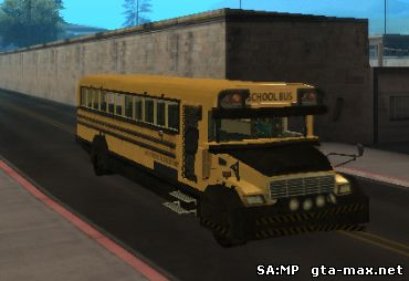 Скачать Armored School Bus для GTA San Andreas