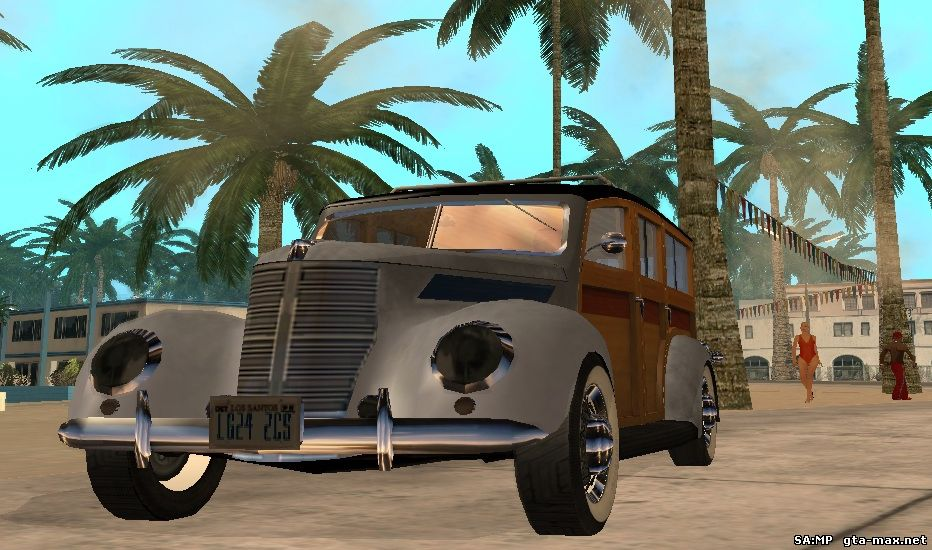 Скачать 1937 Smith Deluxe Station Wagon из Mafia II v.2 для GTA San Andreas
