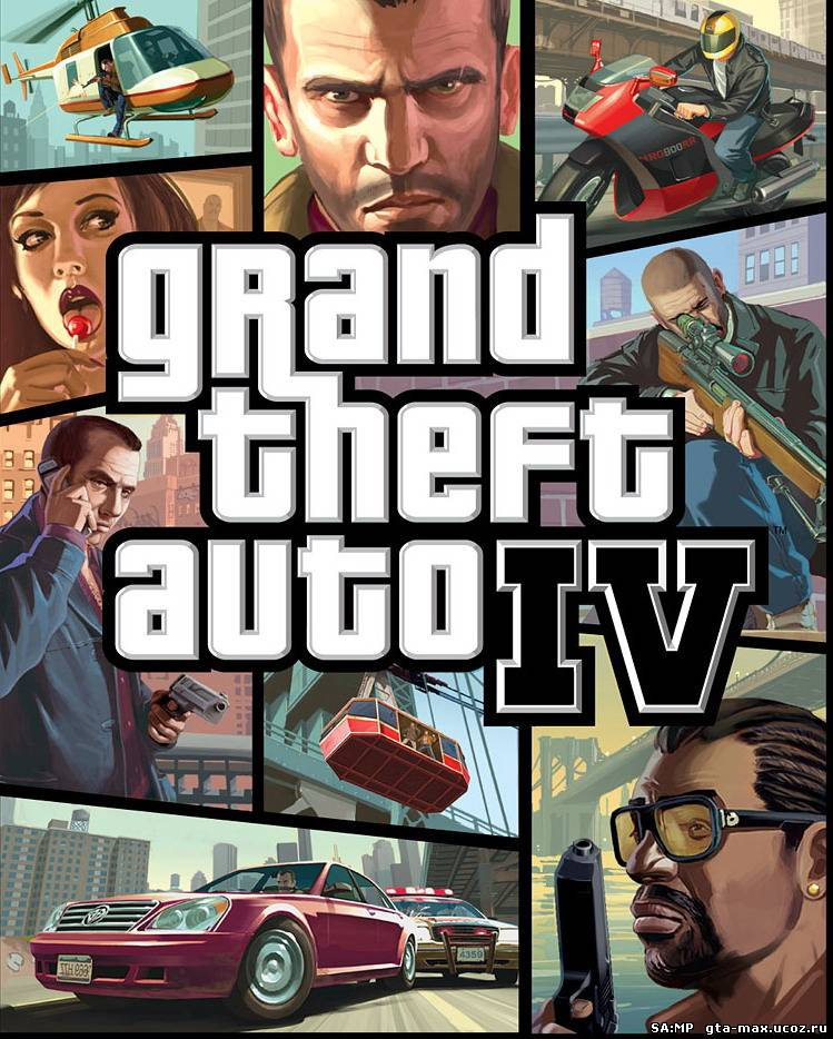 GTA 4 / Grand Theft Auto IV (2008) PC | Патчи + Кряки + Русификаторы
