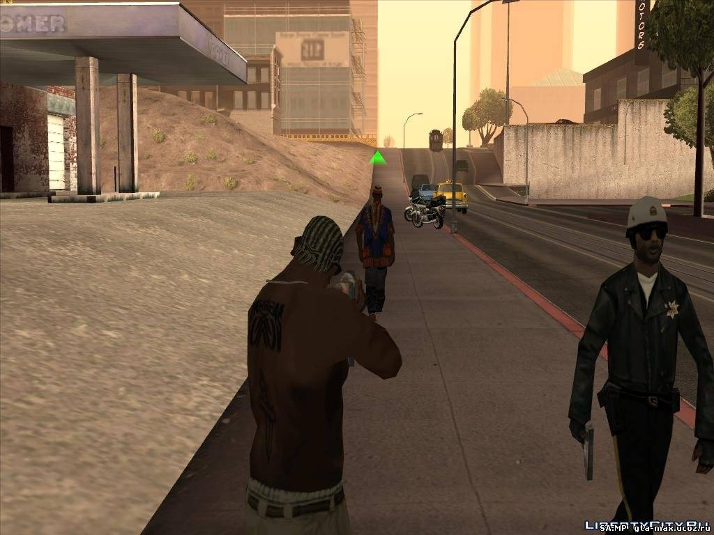 "GTA SA ""Realistic Police Attention 1.1 (CLEO 3 & CLEO 4)"""