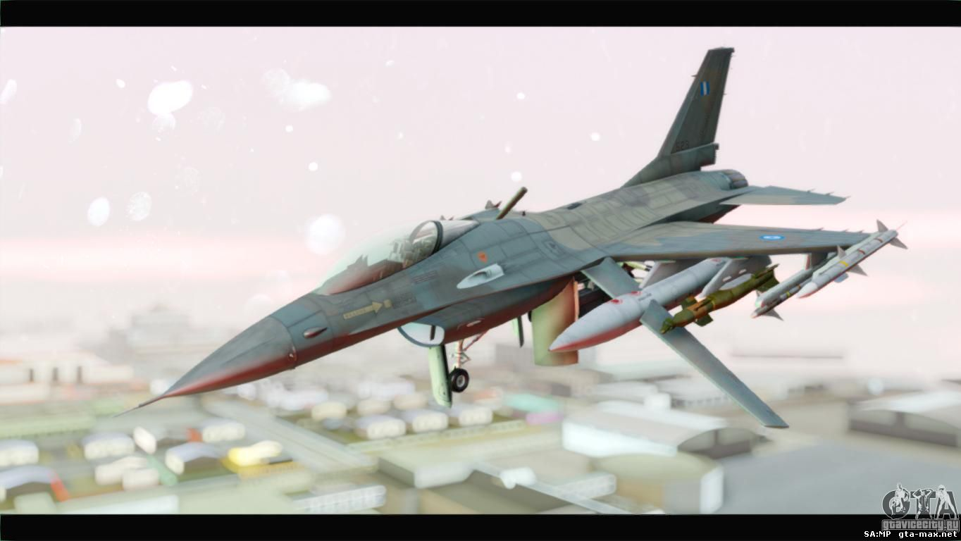 F-16C Hellenic Air Force для GTA San Andreas.